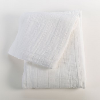 Anichini Hospitality Washable Cotton Quilt Blankets