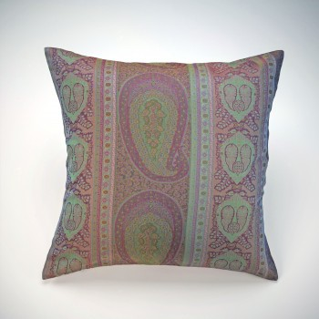 Anichini Taj Paisley Jacquard Pillows