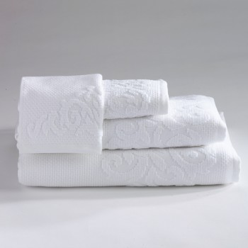 Anichini Hospitality Damasco Custom Terry Bath Towels