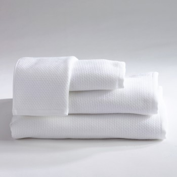 Anichini Hospitality Honeycomb Custom Terry Bath Towels