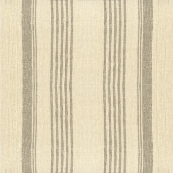 Anichini Olga Striped Flatweave Linen Bath Mats