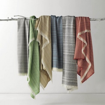 Anichini Toscana Washable Cotton Blend Throws