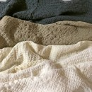 Anichini Adras Linen Waffle Weave Bath Linens