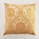 Anichini Bodrum Turkish Brocade Decorative Pillows in Gold