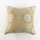 Anichini Bodrum Turkish Brocade Decorative Pillows in Silver/Gold