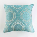 Anichini Bodrum Turkish Brocade Decorative Pillows in Turquoise