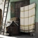 Anichini Hospitality Checks Washable Cotton Blend Throws