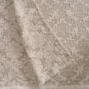 Anichini Hospitality Damask Washable Linen Throws