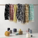 Anichini Hospitality Milano Washable Cotton Blend Throws