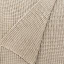 Anichini Hospitality New Moss Acid Wash Washable Cotton Knit Throws