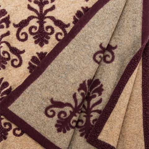 Anichini Hospitality New Gothic Washable Wool Blend Throws