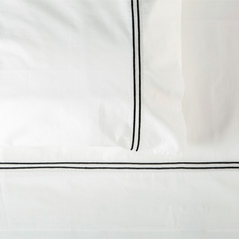 Two Line Embroidery Custom Sheeting